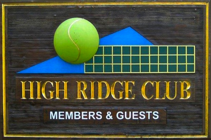 High Ridge Club Sign